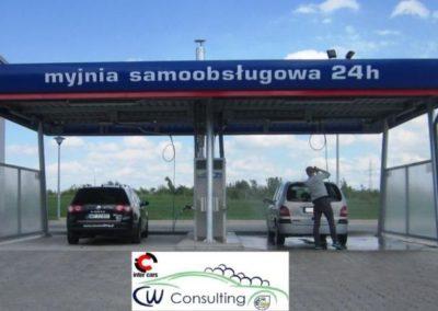 Producent Myjni Samochodowych Budowa Myjni Samochodowej Automatycznych Portalowych CWCONSULTING 40