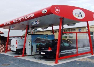 Producent Myjni Samochodowych Budowa Myjni Samochodowej Automatycznych Portalowych CWCONSULTING 50