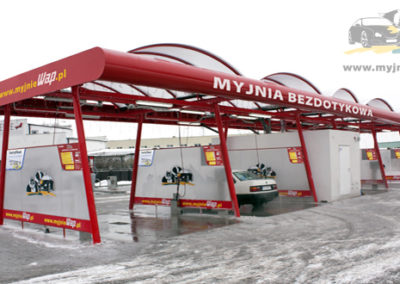 Producent Myjni Samochodowych Budowa Myjni Samochodowej Automatycznych Portalowych CWCONSULTING 76